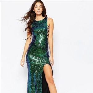 Asos Sequin Maxi Dress